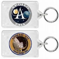 NASA Apollo 12 Mission Insignia Keyring